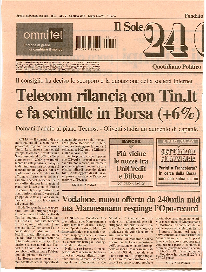 Forex trading sole 24 ore